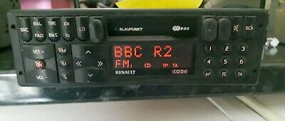 RENAULT CLIO WILLIAMS Radio Cassette Blaupunkt Series 3 Model And Other Cars