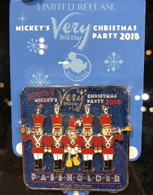 NEW Disney MVMCP 2018 Very Merry Christmas Passholder Toy Soldier Trading Pin