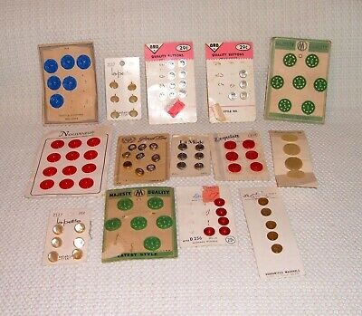 Lot of Mixed Vintage Buttons