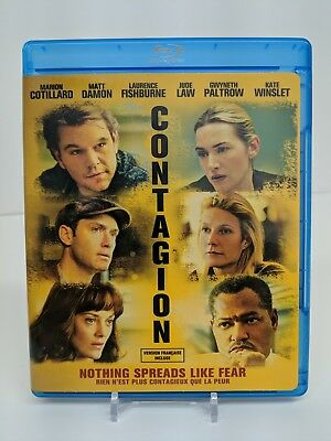 Contagion Blu-ray/DVD 2-Disc Set Bilingual Bluray