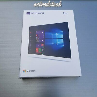 Microsoft Window 10 Professional Pro 32/64 Bit USB FQC-08788 Full Retail Version