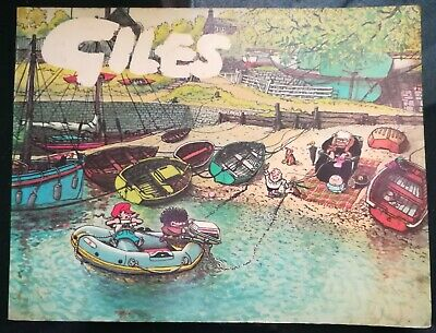 GILES CARTOONS 29th SERIES 1974/75 good condition - UNCLIPPED  - in Australia