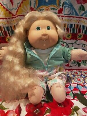 Working Grow Hair Vintage Cabbage Patch