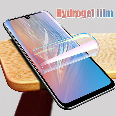 Soft TPU Full Cover Hydrogel Screen Protector Film For Huawei P30 / Pro /Lite Sl