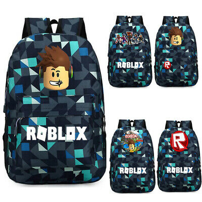 ROBLOX GAME KIDS School Backpacks Insulated Lunch Box