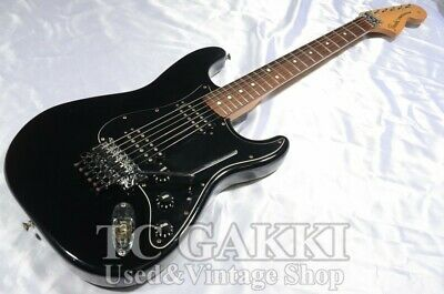 Fender 1999 Deluxe Double Fat Floyd Rose Stratocaster Black Guitar Free Shipping