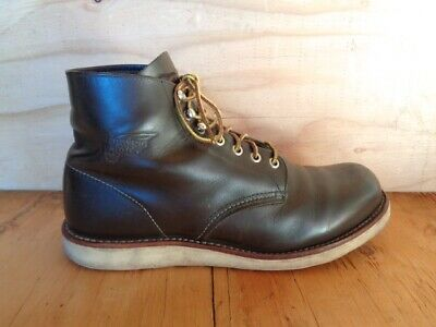209fd833a76e4 VINTAGE RED WING Brown Leather Chukka Men's Size 10 D Crepe Sole Ankle  Boots!