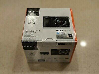 New Sony Alpha A6000 24.3MP Digital Camera - (Kit with 16-50mm Power Zoom Lens)