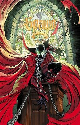 SPAWN #300 Cover  G J. Scott Campbell Variant Image  2019 NM  8/28 Pre-order