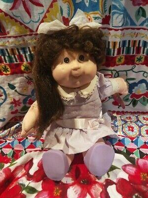 Working Grow Hair Vintage Cabbage Patch with original hand tag