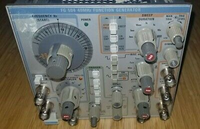 Tektronix FG504 40 MHz Function Generator Plug In for TM500 TM5000