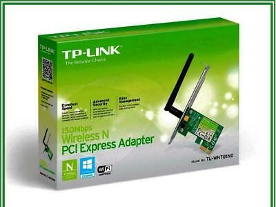 TP-Link TL-WN781ND Wireless N WiFi PCI Express Network Card Adapter 150Mb 2.4GHz