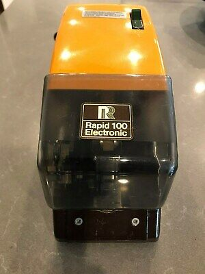 Rapid 100 Commercial / Industrial Strength Electronic Stapler VGC