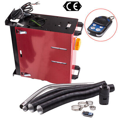 2KW~5KW 12V Diesel Air Heater Thermostat Remote Control LCD Switch All IN ONE