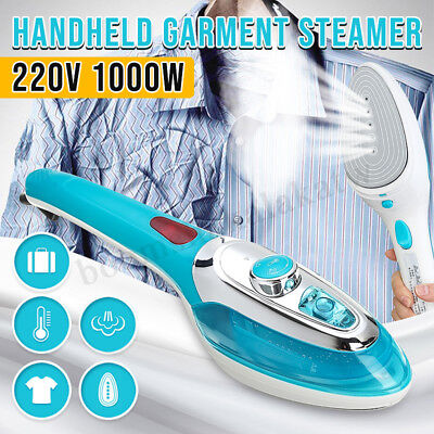 2019 Handheld Portable Steamer Fabric Clothes Travel Garment Steam Iron Brush UK