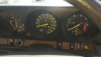 Saab 99 Turbo Gl Speedometer Instrument Cluster With Rev Counter Rare Now
