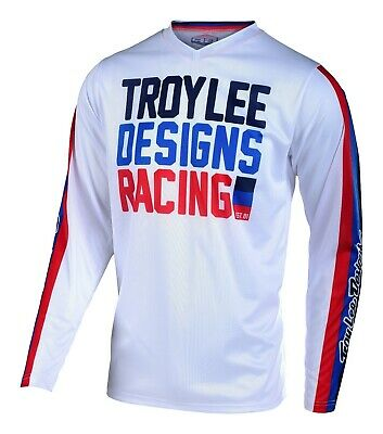 2019 Troy Lee Designs TLD GP AIR PREMIX Motocross Jersey White Adults