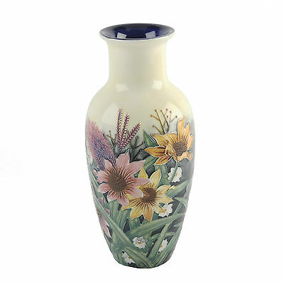 """"""" Summer Bouquet """" Old Tupton Ware 22Cm Flower Vase New And Boxed"""