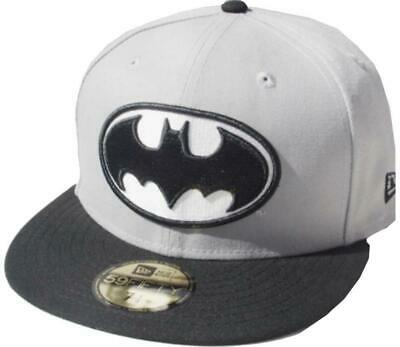 New Era Batman Black On Black 59fifty Fitted Cap DC Comics Kappe Limited Edition