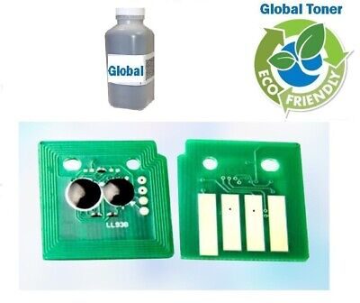 Toner Refill Kit with Chip for Lexmark MS710dn MS710n MS711dn. 650gr. 25K Pages