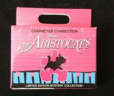 NEW Disney Parks Character Connection The Aristocats LE Mystery Pin Collection