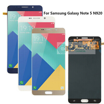 For Samsung Galaxy Note 5 SM-N920 N920A LCD Touch Screen Digitizer Assembly AAA