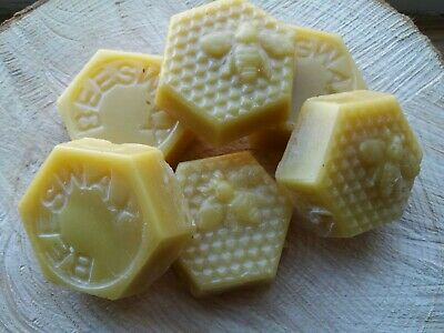 Beeswax Blocks 100% Pure beeswax.from my own honeybees. Make Beeswax wraps.