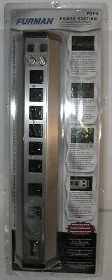 New Furman PST-8 Power Station Series AC Power Conditioner with LiFT, 8 Outlets
