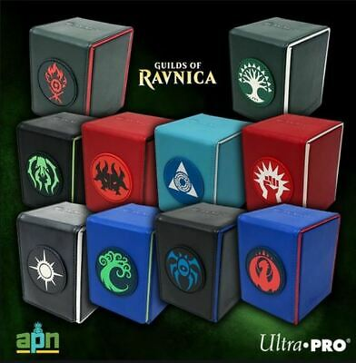 100 ct Alcove Flip Box - Magic the Gathering Guilds of Ravnica - ULTRA PRO