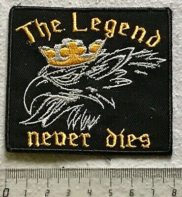 .Aufnäher Patch -> SCANIA - THE LEGEND NEVER DIES