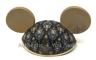 2019 Disney Parks Disneyland Haunted Mansion 50th Anniversary Adult Ear Hat