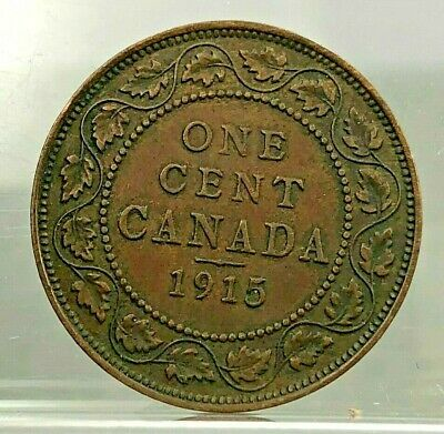 1915 Canada Large Cent ~ George V ~ DECENT CONDITION