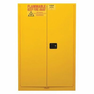 DURHAM MFG 1045M-50 Flammable Safety Cabinet, Manual Door, 45 gal.