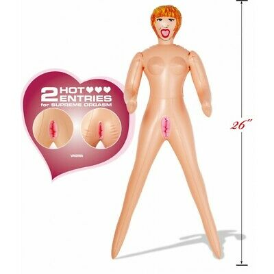 Travel Size Romping Rosy Inflatable Blow Up Doll Fun Novelty Hen Stag Party