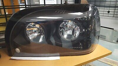 Set of aftermarket Freightliner Century 120 Blacked Out LED Headlights