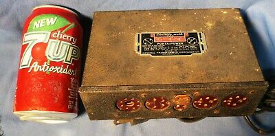 GTC PORTA-POWER MODEL H tube radio battery eliminator to RESTORE or for PARTS