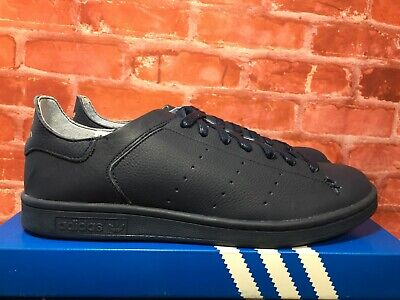 online retailer f778f 22850 ADIDAS STAN SMITH Leather Sock Shoes Mens Size 10 Bz0231 Collegiate Navy
