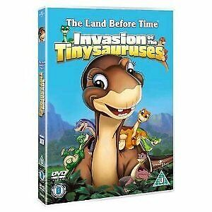 The Land Before Time 11 - Invasion Of The Tiny Sauruses [DVD][Region 2]