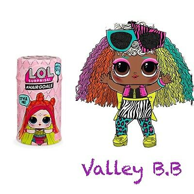 LOL Surprise VALLEY BB Hairgoals Makeover Series 5-2  Doll Rainbow
