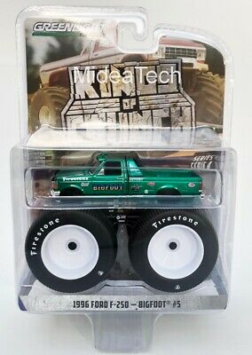 Greenlight 1996 Ford F-250 Monster Truck Bigfoot #5 1/64 Chase Car 49040E