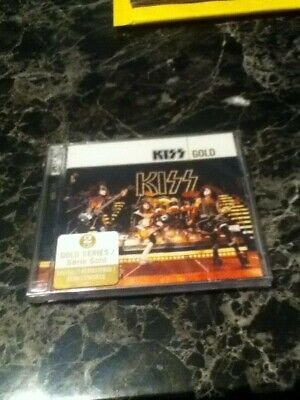 kiss gold x2cds  2005 factory sealed heavy metal