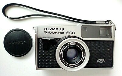 OLYMPUS Quickmatic 600 + carrete formato 126 - Made in Japan - Vintage - Hipster