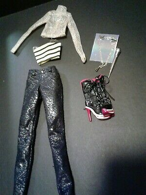 Fashion Royalty Color Infusion Outfit & Accessories Fits Adele Anja Eugenia New