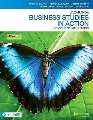 9780730365631 Business Studies in Action HSC Course 6e (PDF Only)