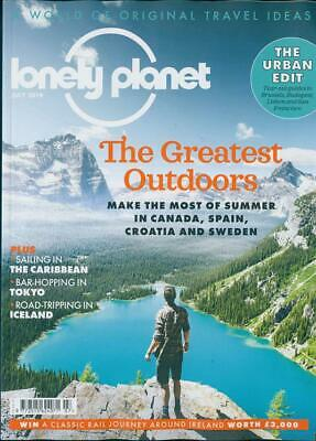 Lonely Planet Magazine July 2019 ~ The Caribbean ~ Tokyo ~ Iceland & Much More ~