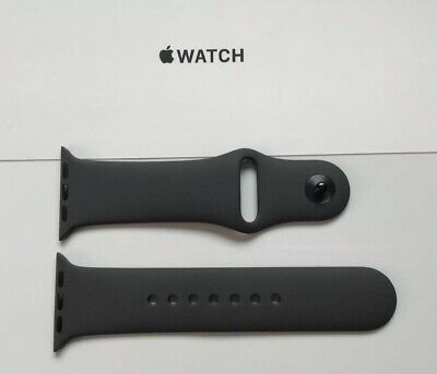 Genuine Official Apple Watch  Sport Band S/m 38mm / 40mm Grey (Dark Gray)