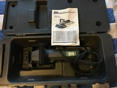 Skil 1810 Plate Joiner Woodwork Tool Carry Case And Instructions PAT Tested