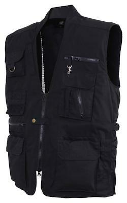 Rothco Plainclothes Concealed Carry Vest - Black - Size Large