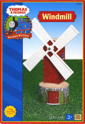 Extremely Rare Red 2002-04 Red Label Thomas The Tank Wooden ~ Windmill ~ LC99354