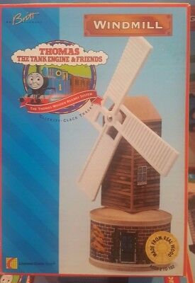 Extremely Rare 1996 NIB Brown Label Thomas The Tank Wooden ~ Windmill ~ LC99306